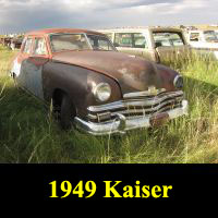 Junkyard 1949 Kaiser Special