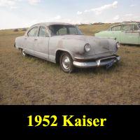 Junkyard 1952 Kaiser