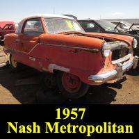 Junkyard 1957 Nash Metropolitan