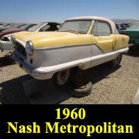 Junkyard 1960 Nash Metropolitan