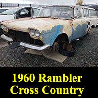 1960 Rambler Super Cross Country