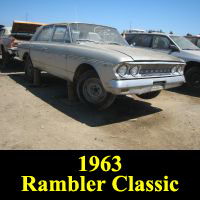 Junkyard 1963 Rambler Classic
