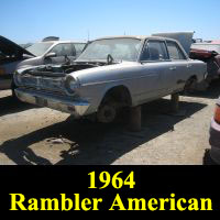 Junkyard 1964 Rambler American