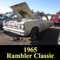 Junkyard 1965 Rambler Classic 770 Convertible