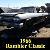 Junkyard 1966 Rambler Classic Convertible