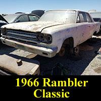 Junkyard 1966 Rambler Classic Sedan