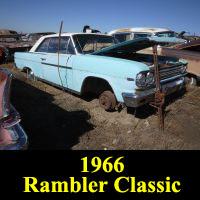 Junkyard 1966 Rambler Classic 770 Coupe
