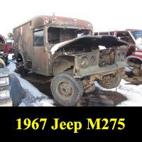 Junkyard 1967 Jeep M275 Ambulance