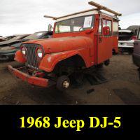 Junkyard 1968 Jeep DJ-5A