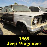 Junkyard 1969 Jeep Wagoneer