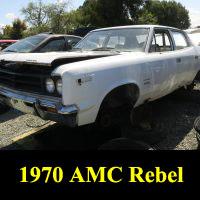 Junkyard 1970 AMC Rebel