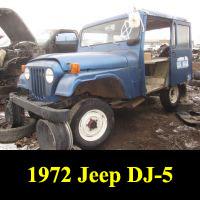 Junkyard 1971 Jeep DJ-5B