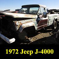 Junkyard 1972 Jeep J-4000