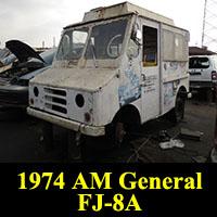Junkyard 1974 AM General FJ-8A Ice Cream Truck
