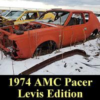 Junkyard 1974 AMC Gremlin Levis Edition