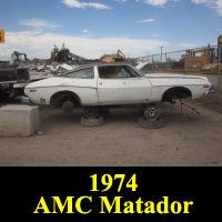 Junkyard 1974 Oleg Cassini Edition AMC Matador