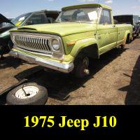 Junkyard 1975 Jeep J10