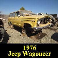 Junkyard 1976 Jeep Wagoneer