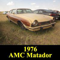 Junkyard 1976 AMC Matador Barcelona
