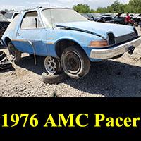 Junkyard 1976 AMC Pacer