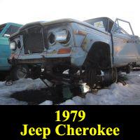 Junkyard 1979 Jeep Cherokee