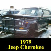 Junkyard 1979 Jeep Cherokee Golden Eagle