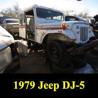 Junkyard 1979 Jeep DJ-5G