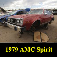 Junkyard 1979 AMC Spirit