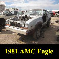 Junkyard 1981 AMC Eagle SX/4