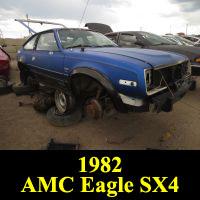 Junkyard 1982 AMC Eagle SX/4