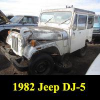 Junkyard 1982 Jeep DJ-5