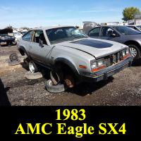 Junkyard 1983 AMC Eagle SX/4 Sport