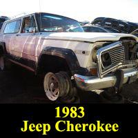 Junkyard 1983 Jeep Cherokee