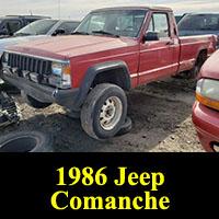Junkyard 1986 Jeep Comanche
