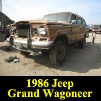 Junkyard 1986 Jeep Grand Wagoneer