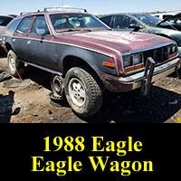 Junkyard 1988 AMC Eagle Station Wagon
