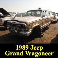 Junkyard 1989 Jeep Grand Wagoneer