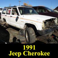 Junkyard 1991 Jeep Cherokee Sport
