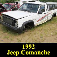 Junkyard 1992 Jeep Comanche