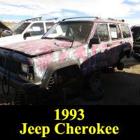 Junkyard 1993 Jeep Cherokee