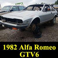 Junkyard 1982 Alfa Romeo GTV6