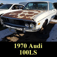 Junkyard 1970 Audi 100LS
