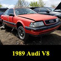Junkyard 1989 Audi V8