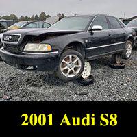 Junkyard 2001 Audi S8