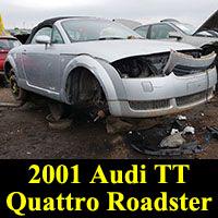 Junkyard 2001 Audi TT Quattro Roadster