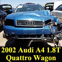 Junkyard 2002 Audi A4 wagon