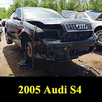 Junkyard 2005 Audi S4