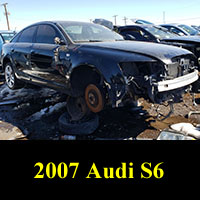 Junkyard 2007 Audi S6