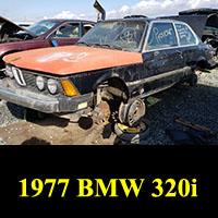 Junkyard 1977 BMW 320i
