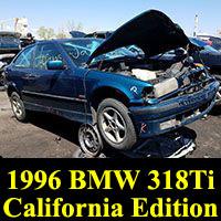 Junkyard 1996 BMW 318Ti California Edition